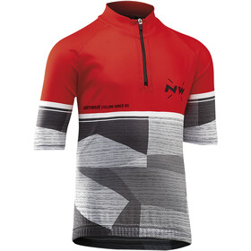 Northwave Origin SS Jersey Juniors red/grey